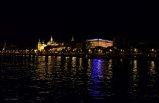 widok Budapesztu w nocy